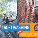 soft washing vs pressure cleaning